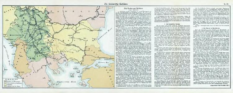 Nr. 18. Die Eroberung Serbiens