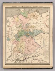 Etats Secondaires de L'Allemagne.