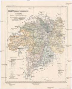 Abauj-Torna vármegye térképe