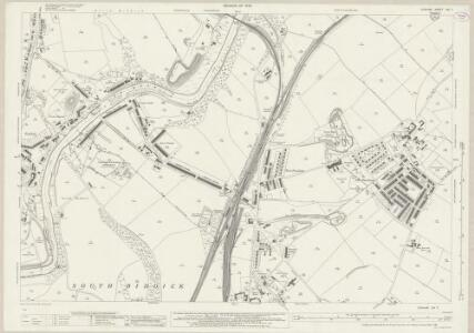 Durham XIII.7 (includes: Harraton; Houghton Le Spring; Offerton; South Biddick; Washington) - 25 Inch Map