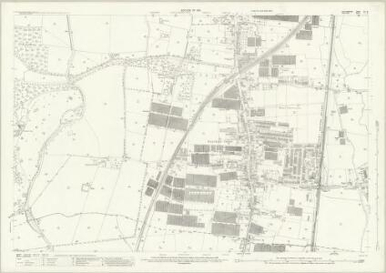 Hertfordshire XLI.12 (includes: Cheshunt; Enfield St Andrew) - 25 Inch Map