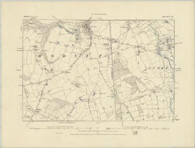 Shropshire XXII.NW - OS Six-Inch Map