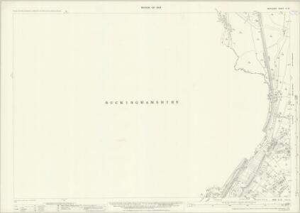 Middlesex IX.15 (includes: Denham; Uxbridge) - 25 Inch Map