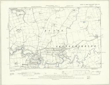 Yorkshire XXVII.NE - OS Six-Inch Map
