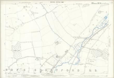 Essex (1st Ed/Rev 1862-96) XXII.11 (includes: Birchanger; Bishops Stortford; Farnham) - 25 Inch Map