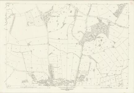 Nottinghamshire XLVI.2 (includes: Clifton With Glapton; Ruddington; West Bridgford) - 25 Inch Map