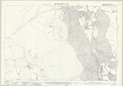 Cumberland LXXXVI.11 (includes: Broughton West) - 25 Inch Map