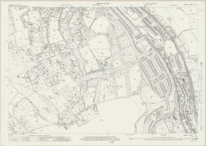 Surrey XX.10 (includes: Caterham; Coulsdon; Sanderstead; Warlingham) - 25 Inch Map