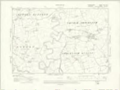 Denbighshire XXIX.SE - OS Six-Inch Map