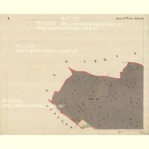 Laskes - m3434-1-001 - Kaiserpflichtexemplar der Landkarten des stabilen Katasters