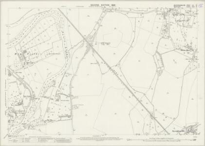 Buckinghamshire LVI.15 (includes: Datchet; Horton; Old Windsor; Wyrardisbury) - 25 Inch Map