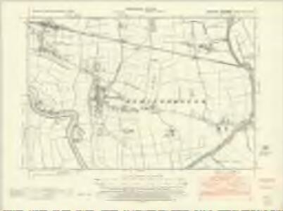 Yorkshire CCXXII.SW - OS Six-Inch Map