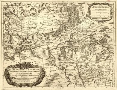Pars Occidentalis Temporalis Archiepiscopatvs, et Electoratvs Mogvntinensis, nec non Superioris et inferioris Comitatus Cattimellebogensis