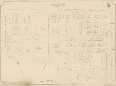 Balmain, Sheet 55, 1892