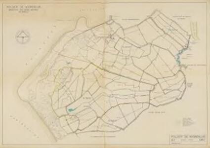 Polder de Noordsluis, gemeente Brielle, Oostvoorne en Rockanje.