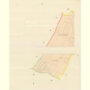 Pinke (Penkow) - m0051-1-001 - Kaiserpflichtexemplar der Landkarten des stabilen Katasters