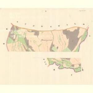 Krügsdorf (Woynowice) - m3455-1-001 - Kaiserpflichtexemplar der Landkarten des stabilen Katasters