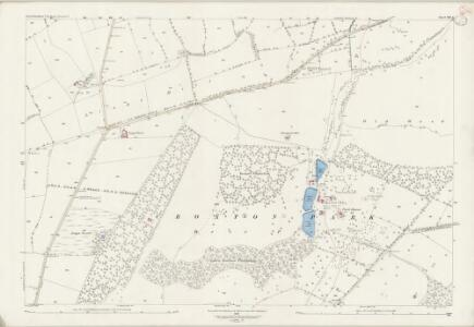 Leicestershire XIII.4 (includes: Croxton Kerrial; Eaton; Sproxton; Waltham) - 25 Inch Map