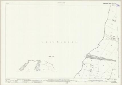 Staffordshire LV.11 (inset LV.13) (includes: Albrighton; Beckbury; Boningale; Patshull; Ryton) - 25 Inch Map