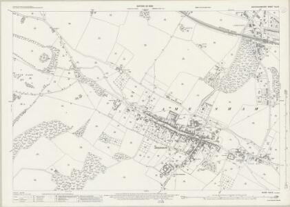Buckinghamshire XLIII.5 (includes: Amersham) - 25 Inch Map