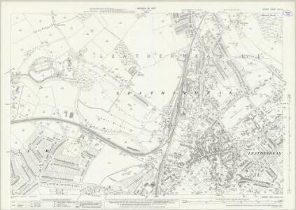 Surrey XVIII.15 (includes: Fetcham; Leatherhead) - 25 Inch Map