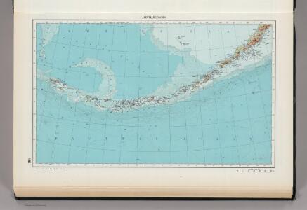 184.  Aleutian Islands.   The World Atlas.