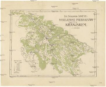 Naseljenost prebivalstva na Kranjskem