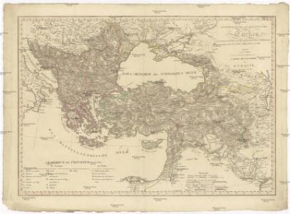 Europaeische und asiatische Türkey