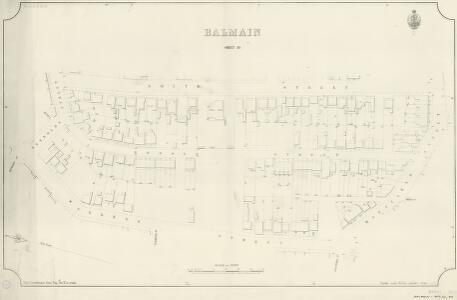 Balmain, Sheet 50, 1889