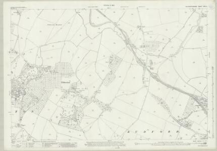 Gloucestershire XXIV.8 (includes: Hartpury; Rudford; Tibberton) - 25 Inch Map