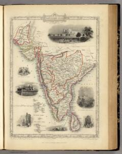 Southern India Including The Presidencies Of Bombay & Madras.