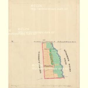 Alt Preneth - c7314-2-010 - Kaiserpflichtexemplar der Landkarten des stabilen Katasters