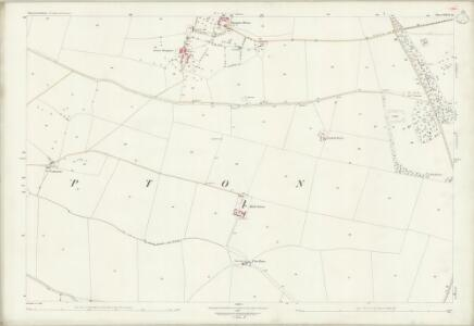 Gloucestershire XXVII.16 (includes: Haselton; Shipton) - 25 Inch Map