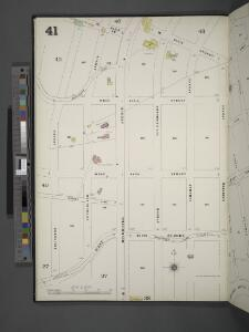 Manhattan, V. 12, Plate No. 41 [Map bounded by W. 250th St., Leibnitz Ave., Arlington Ave.]