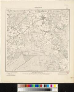 Meßtischblatt 1663 : Goldenstedt, 1900
