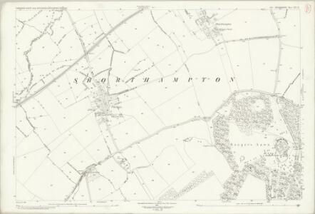 Oxfordshire XX.15 (includes: Ascott under Wychwood; Charlbury; Chilson; Cornbury and Wychwood) - 25 Inch Map