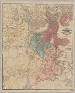 Map of Boston for 1875