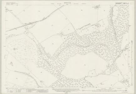 Buckinghamshire XL.8 (includes: Aston Rowant; Lewknor; Stokenchurch) - 25 Inch Map