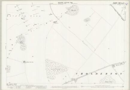 Wiltshire LV.10 (includes: Bulford; Cholderton; Shipton Bellinger) - 25 Inch Map