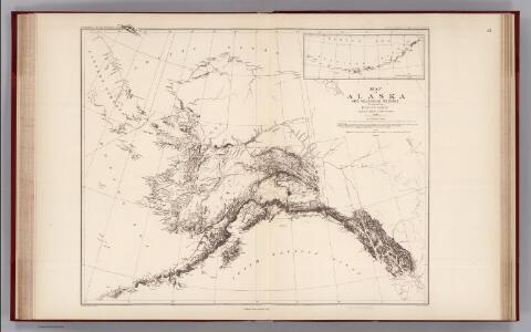 Facsimile:  Petroof's Map of Alaska and Adjoining Regions.