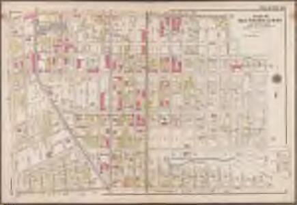 Plate 20: [Bounded by Regent Place, Tilden Avenue, (Holy Cross Cemetery) Canarsie Avenue, Canarsie Lane, E. 40th Street, Foster Avenue, E. 42nd Street, Farragut Road and Ocean Avenue.]; Atlas of the borough of Brooklyn, city of New York: from actual surveys and official plans by George W. and Walter S. Bromley.