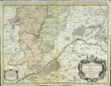Partie septentrionale de l'evesché de Chartres