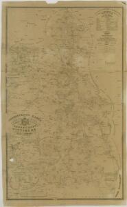 Administrativní mapa třeboňského panství 1