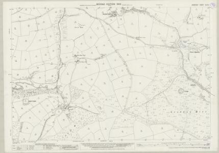 Somerset XLVI.9 (includes: Cutcombe; Exford; Winsford) - 25 Inch Map