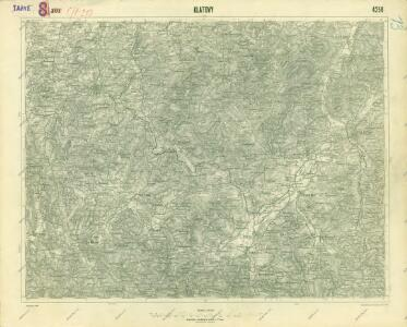 III. vojenské mapování 4250