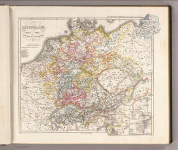 Deutschland von 1495 bis 1618.