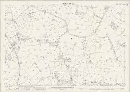 Kent LXIII.15 (includes: Biddenden) - 25 Inch Map