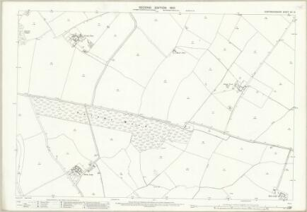 Huntingdonshire XIII.13 (includes: Buckworth; Hamerton; Leighton) - 25 Inch Map