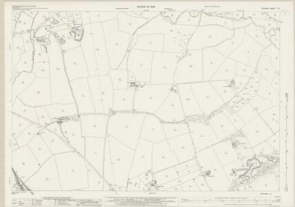 Durham L.3 (includes: Carlton; Grindon; Norton) - 25 Inch Map
