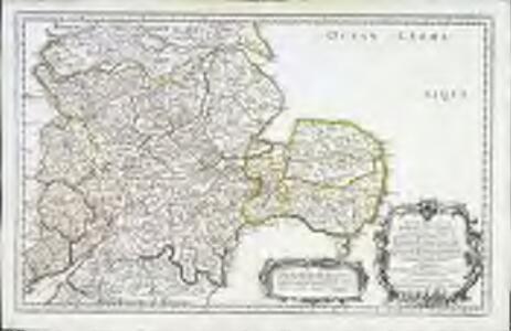 Anciens royaumes de Mercie, et East-Angles
